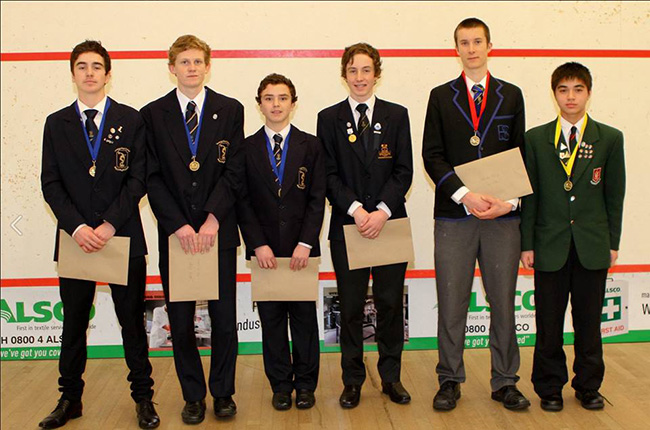 Secondary schools squash nationals