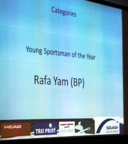 Rafa Yam Young Sportsman of the Year