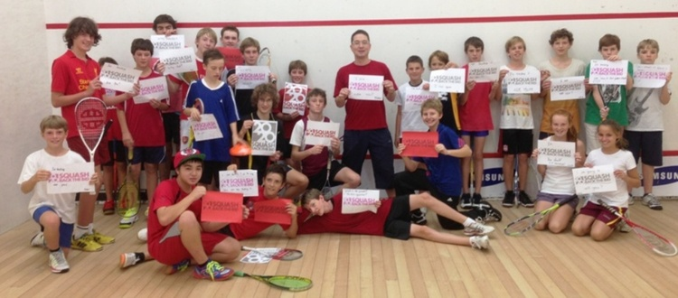 Squash Holiday Camp